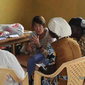 UNM Nursing professor brings breast self-exams to rural Kenya