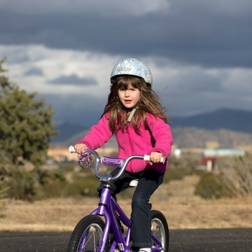 Take the kids on a ride for fitness and fun, but don't forget the helmets