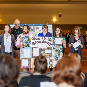 HSC students present health care research to community groups