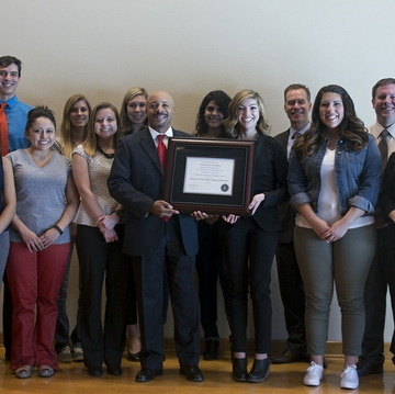 FBI honors UNM pharmacy students for tackling prescription drug abuse