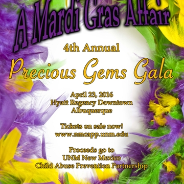 """Precious Gems"" child abuse prevention gala slated April 23"