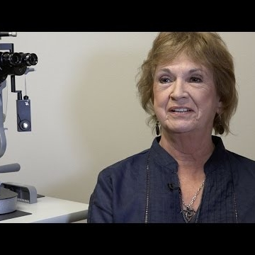70 year-old-patient sees big improvements after cataract surgery