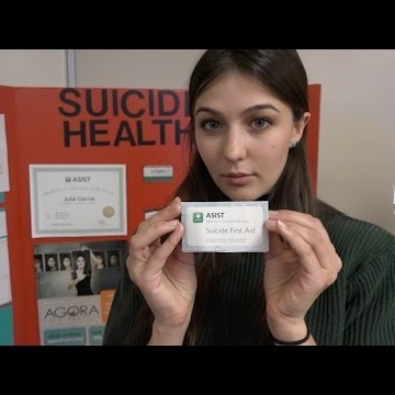 Nursing student brings awareness on suicide in New Mexico