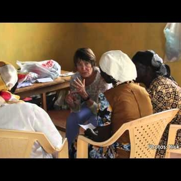 UNM Nursing professor brings breast self-exams to rural Kenya