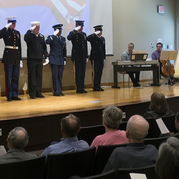 Honoring donors who served in the military