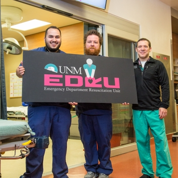 Ben Baca, Matt Hanifin and Isaac Tawil, MD