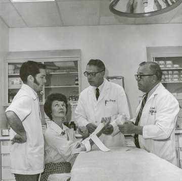 Physical therapy at UNM, 1975