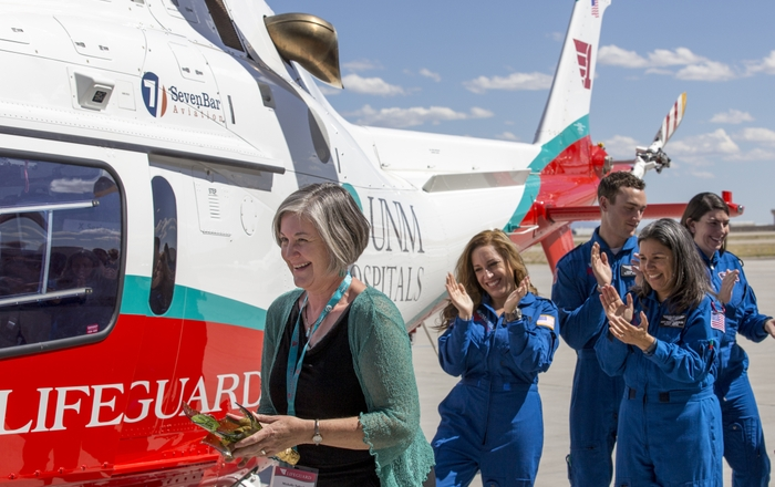 Medical helicopter dedication