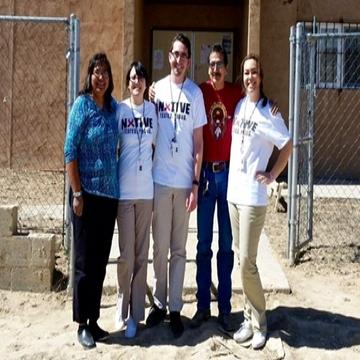 Nursing students at Black Mesa Chapter
