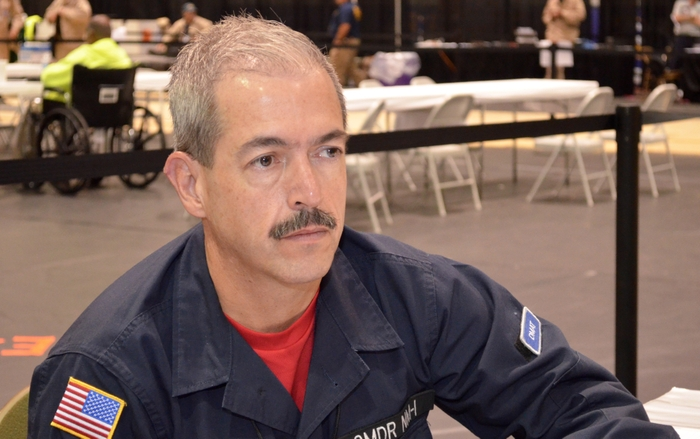 NM-1 Team Commander Byron Piatt