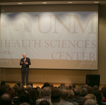 Alan Alda at the HSC