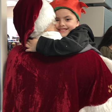 Santa Comes Early