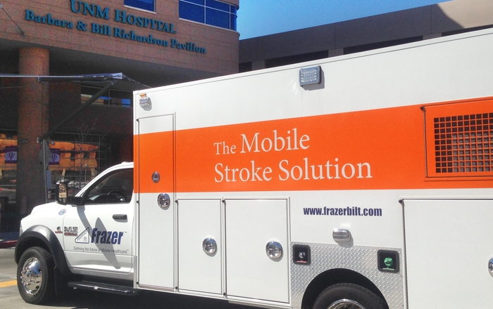 Frazer mobile stroke ambulance
