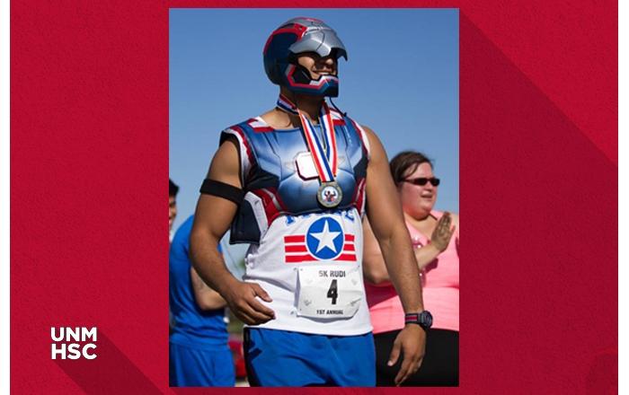 Superhero participant