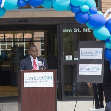 Derrick Jones, CEO, Lovelace UNM Rehabilitation Hospital