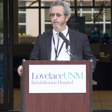 John Henry Sloan, MD, medical director, Lovelace UNM Rehabilitation Hospital