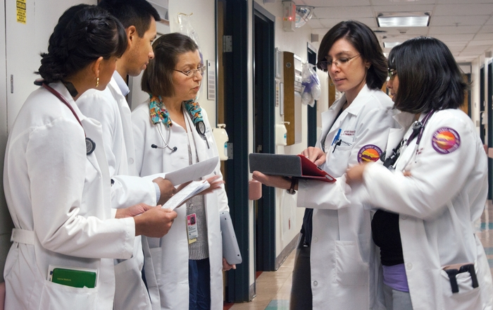 UNM medical students