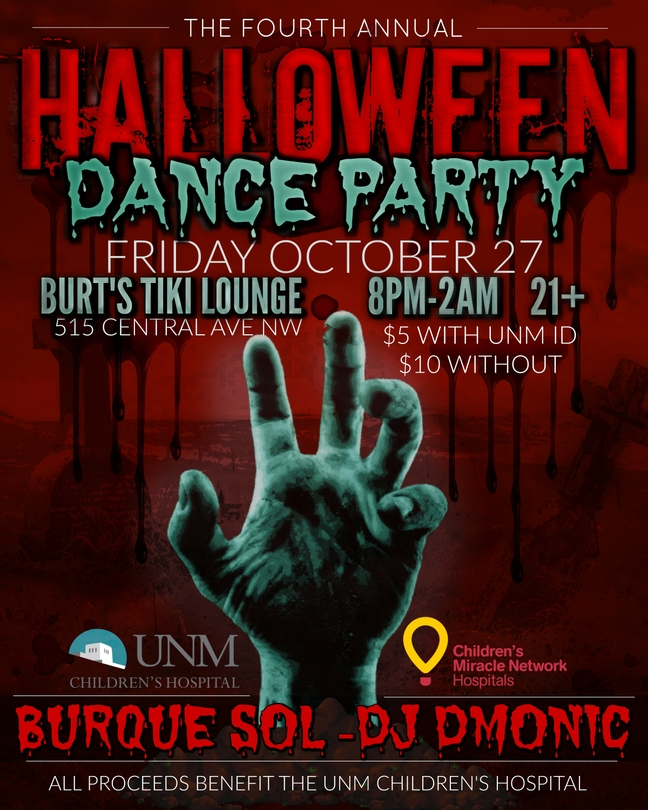 SOM Halloween Party Poster
