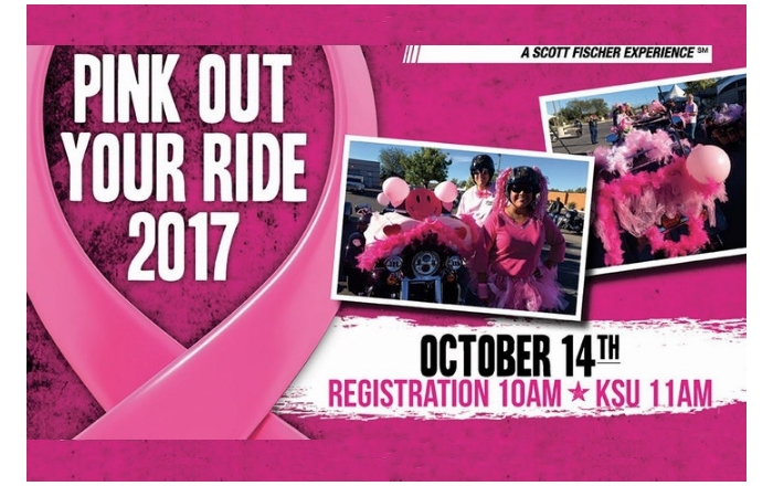 Pink Your Ride — Motorcyclists Increasing Awareness (MIA)