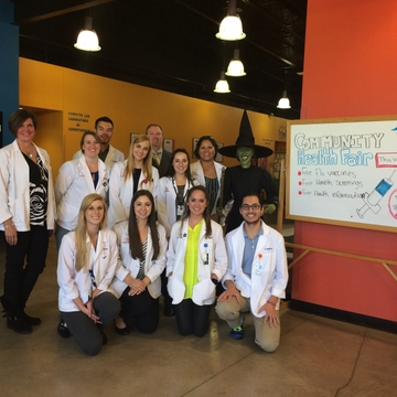 UNM pharmacy students declare October 20 Community Outreach Day