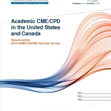 Academic CME/CPD in the United States and Canada