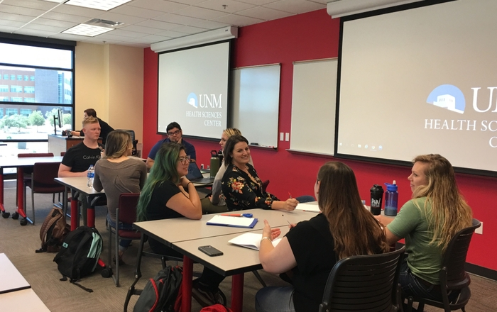 "UNM Health Sciences Rio Rancho Campus Now Offering new ""Cluster Class Registration"" for Students"