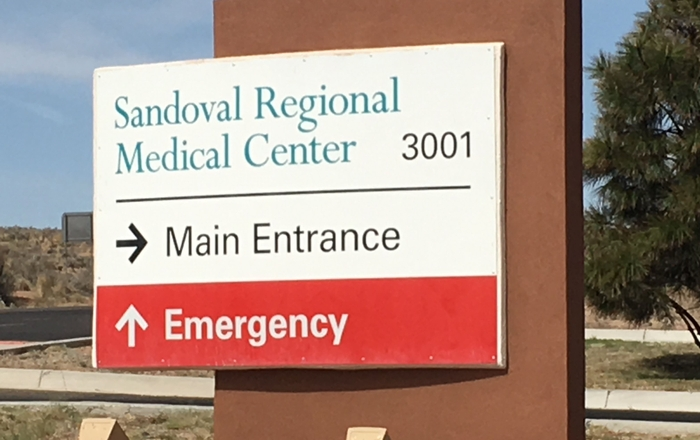 Sandoval County Regional Center ER  Provides Benefits, Saves Money throughout the County