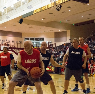 Playing Hoops to Battle Cancer