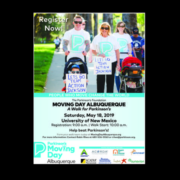 Moving Day Albuquerque - A Walk for Parkinson's