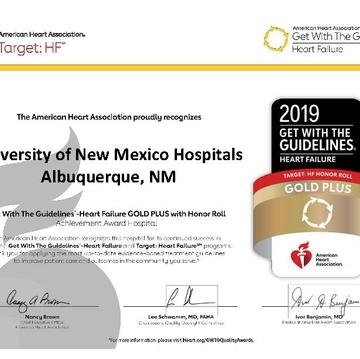 UNMH earns American Heart Association award