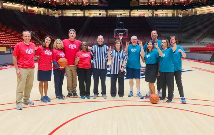UNM Gives Basketball Game