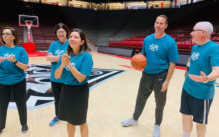 UNM Gives Basketball