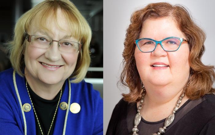 Nancy Ridenour, PhD, APRN and Judy Liesveld, PhD, PPCNP-BC