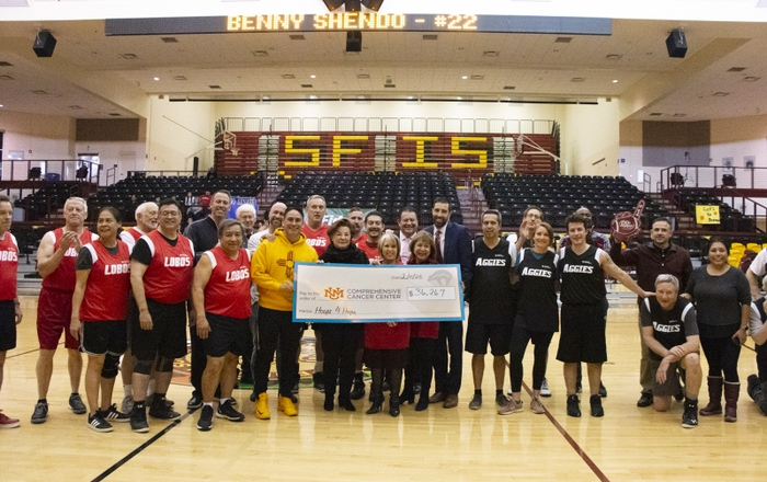 Hoops 4 Hope 2020 Check Presentation