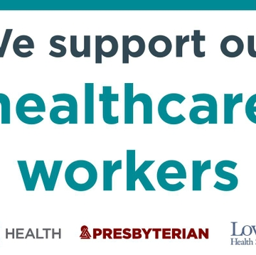 Show Your Support for Our Health Care Workers!