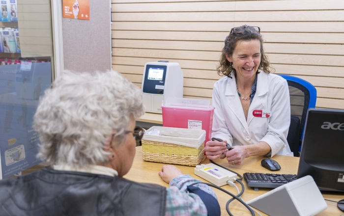 Community Pharmacists Provide Care
