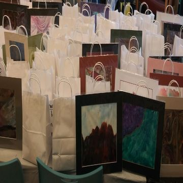 Local Artists Gift UNM ICU Nurses with Hundreds of Pieces of Art and Jewelry