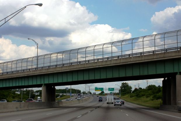 generic bridge over highway