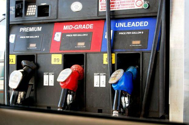 premium midgrade unl pump horizontal
