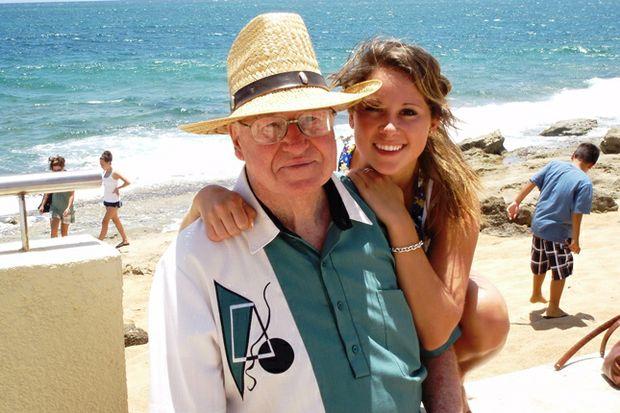 Grandpa and granddaughter traveling by JJ DiUbaldi