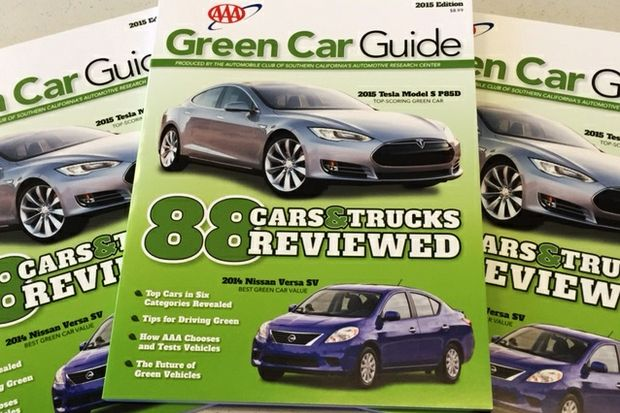 2015 Green Car Guide