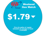 AAA Texas: Statewide Pump Price Set to be Cheapest for Thanksgiving Day In 12 Years