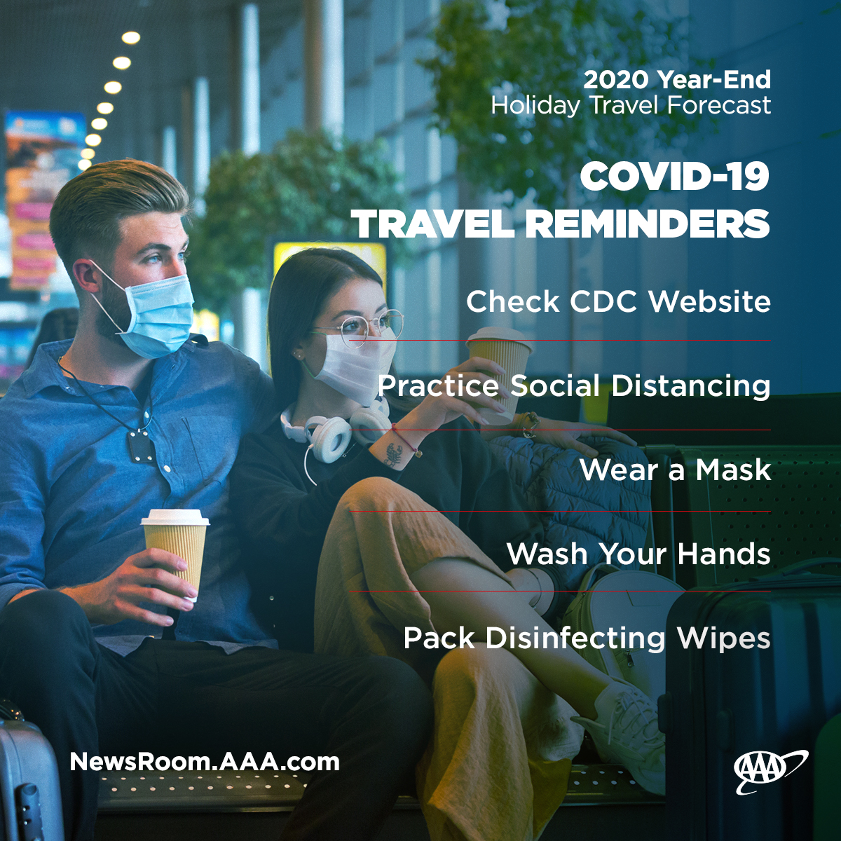 covid 19 travel reminders