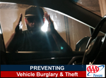 Auto Theft Man Looking In Window TX logo