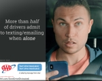 "New AAA Survey Reveals Half of Drivers Admit to Being ""Intexticated"" When in Car Alone"