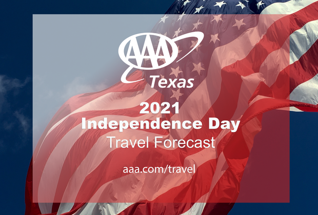 2021 Independence Day Forecast graphic