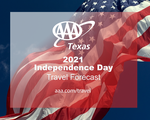 AAA Texas: Independence Day Travel to Surpass Pre-Pandemic Levels, Setting New All-Time High for Lone Star State Travel Volume