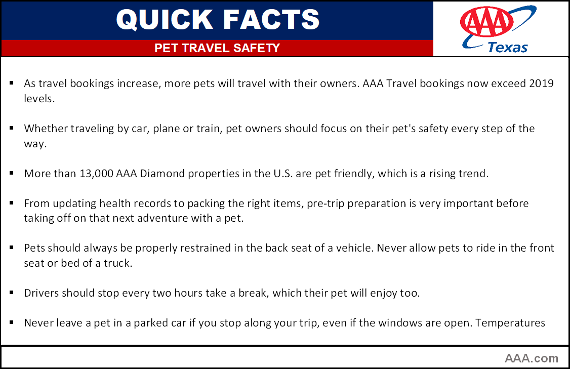 TX_QUICK FACTS pet travel safety 2021