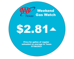 AAA Texas: Statewide Gas Price Average Rises to Most Expensive Level Since 2014