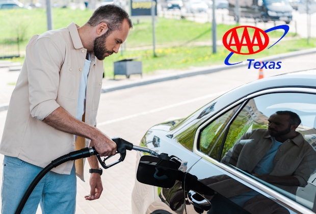 aaa texas man-holding-fuel-pump-and-refueling wide